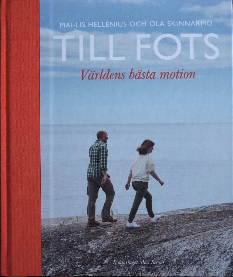 Tillsammans med Mai-Lis Hellenius. (2013)